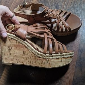 Franco Sarto Summer Wedges